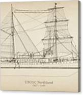 U.s. Coast Guard Cutter Northland Canvas Print