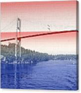 1000 Island International Bridge 3 Canvas Print