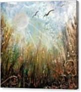 #1005 Golden Rays Canvas Print