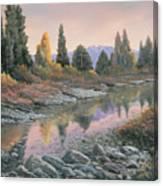 100501-1224  Autumn Reflections Canvas Print