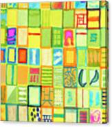 101 Images Canvas Print