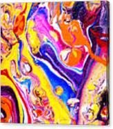 #102 Circus Pour Canvas Print