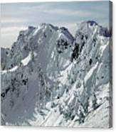 104726 Cornices On Denny Mountain Canvas Print