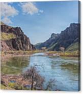10905 Oregons Owyhee River   Canvas Print