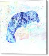 10957 Manatee Canvas Print