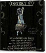 10th Anniversary Tour Canvas Print