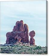 Arches National Park  Moab  Utah  Usa Canvas Print