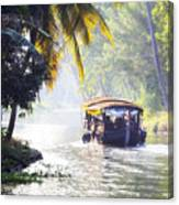 Backwaters Kerala - India Canvas Print