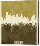 Baltimore Maryland Skyline Canvas Print