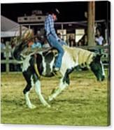 Bronco Riding Canvas Print