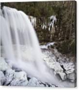 Dry Falls - Highlands, Nc Canvas Print