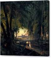 Forest Path Near Spandau Canvas Print