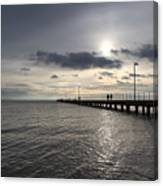 Frankston Beach Canvas Print