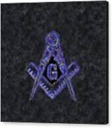 Freemason, Mason, Masonic Symbolism Canvas Print