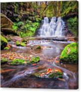 Goit Stock Waterfall Canvas Print