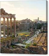 Rome Forum  Canvas Print