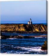 Sunset Bay Beach Canvas Print
