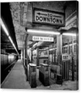 110th Street And Lenox Avenue Station - New York City Canvas Print
