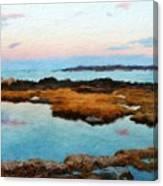 Landscape Definition Nature Canvas Print