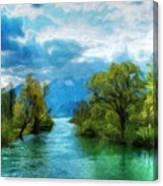 Nature New Landscape Canvas Print