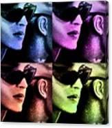 11438 Mannequin Series 11-14 Can You Keep A Secret Pop Art 2 Canvas Print