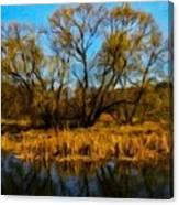 Nature Landscape Work Canvas Print