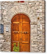 1164 Assisi Italy Canvas Print