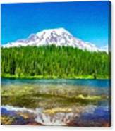 Nature Cool Landscape Canvas Print