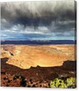 1174 Brewing Desert Storm Canvas Print