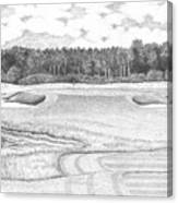 11th Hole - Trump National Golf Club Canvas Print