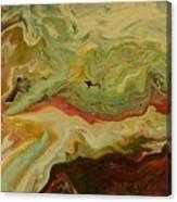 Acrylic Pour Canvas Print