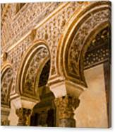 Alcazar Of Seville - Seville Spain Canvas Print