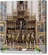 12 Apostles Altar - Rothenburg Canvas Print