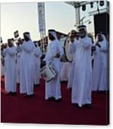 Dubai Travelers Festival Canvas Print