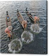 Fisherman Inle Lake - Myanmar Canvas Print