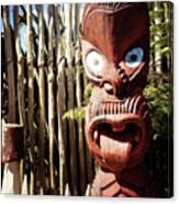 Maori Carving Canvas Print