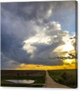 May Nebraska Storm Cells Canvas Print