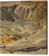 Moonland Ladakh Jammu And Kashmir India Canvas Print