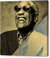 Ray Charles Collection Canvas Print
