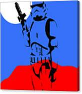 Star Wars Stormtrooper Collection Canvas Print