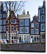 Streets Of Amsterdam Canvas Print