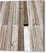 Wooden Panels Canvas Print