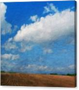 Nature Oil Painting Landscape Images Canvas Print
