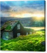 Nature Landscape Art Canvas Print