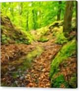 Nature Landscape Oil Painting Canvas Print