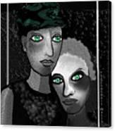 1231  Spiritual Compagnons  2017 A Canvas Print