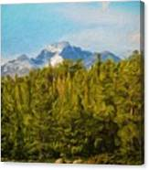 Landscape Paintings Canvas Prints Nature Art  Canvas Print