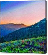 Nature Oil Canvas Landscape Canvas Print