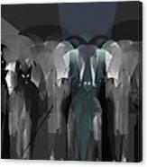 127 -  Nightwalkers Dark Canvas Print