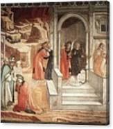 12dispu Fra Filippo Lippi Canvas Print